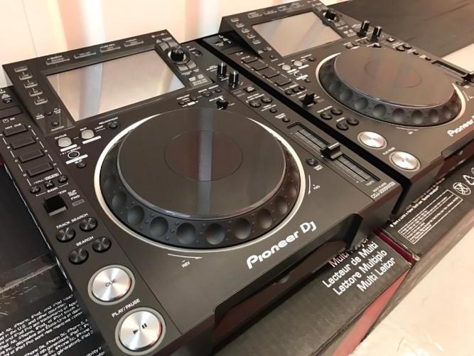 2x Pioneer CDJ-2000NXS2 +  1x DJM-900NXS2 mixer === 2900 EUR - 1/2
