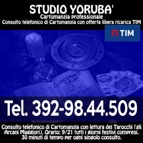 Con l'offerta prepagata ottieni un consulto di Cartomanzia - YORUBA' il Cartomante - 5/5