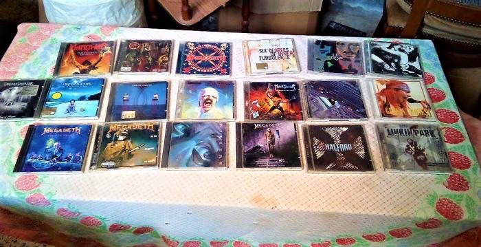 Serie Di CD Musicali Originali Misti Metal - 1/2