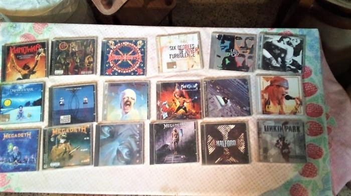 Serie Di CD Musicali Originali Misti Metal - 2/2