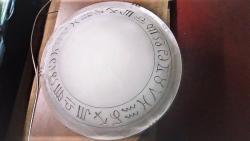 Plafoniera con disegni zodiacali